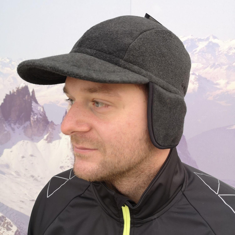 Pánska zimná čiapka CAMPAGNOLO Man Fleece Hat Antracitová UNI