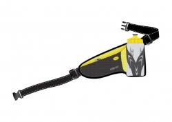 Bežecký opasok s fľašou V3TEC Supreme Black / Yellow 500ml