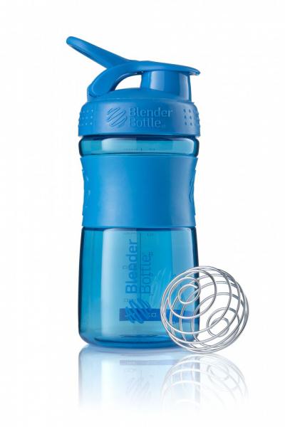 Športová fľaša Blender Bottle SportMixer Grip Turquoise 590 ml