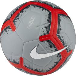Futbalová lopta NIKE Strike Grey / Red