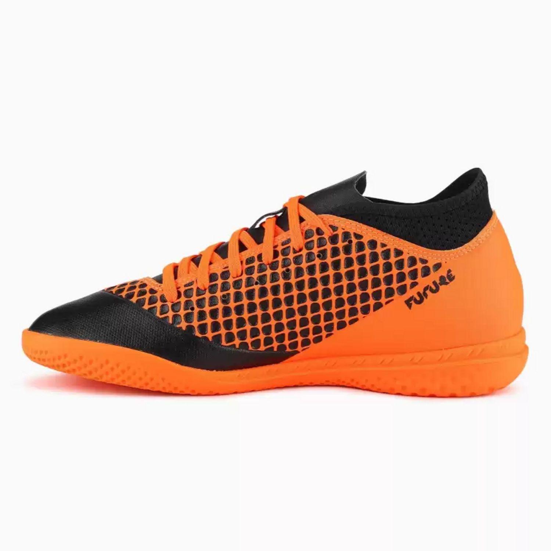 Halová obuv PUMA Future 2.4 IT Orange/Black Čierno-oranžová 42.5