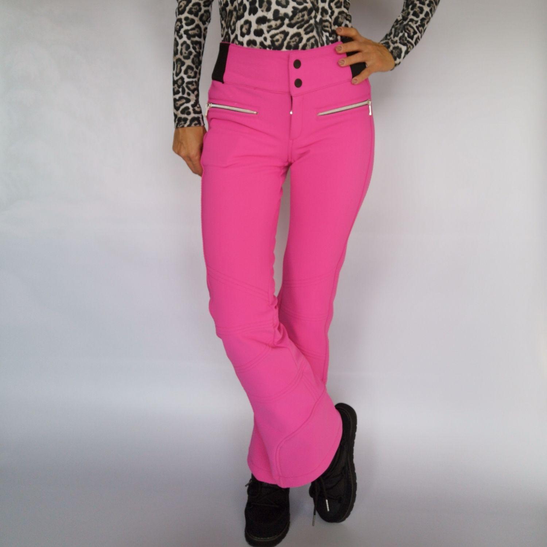 Lyžiarske nohavice TONINI Tech Ela Pink Ružová XXL
