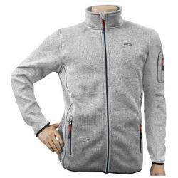 GTS Knitted Fleece Jacket Grey