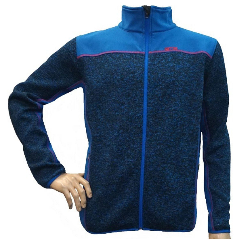 Bunda GTS Mix Softshell Jacket Blue Modrá XXL