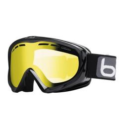 Lyžiarske okuliare BOLLÉ Y6 OTG Shiny Black/Lemon