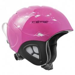 Lyžiarska prilba CÉBÉ Pluma Junior Shiny Pink Bear 18/19