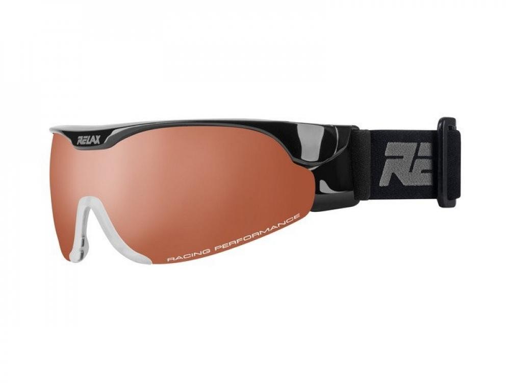 095e00f08 Bežecké okuliare RELAX Cross Shiny Black 18/19