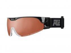 Bežecké okuliare RELAX Cross Shiny Black 18/19