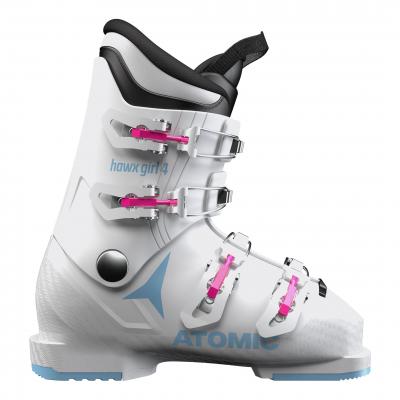 Detské lyžiarky ATOMIC Hawx Girl 4 White / Denim Blue