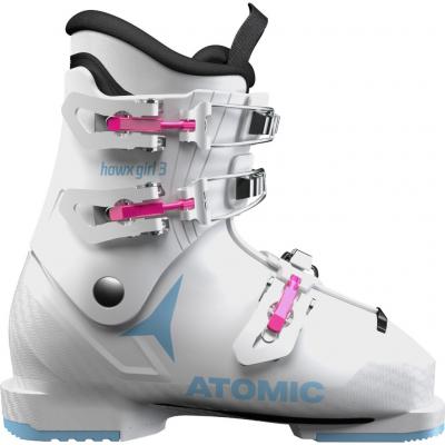 Detské lyžiarky ATOMIC Hawx Girl 3 White / Denim Blue - 18/19