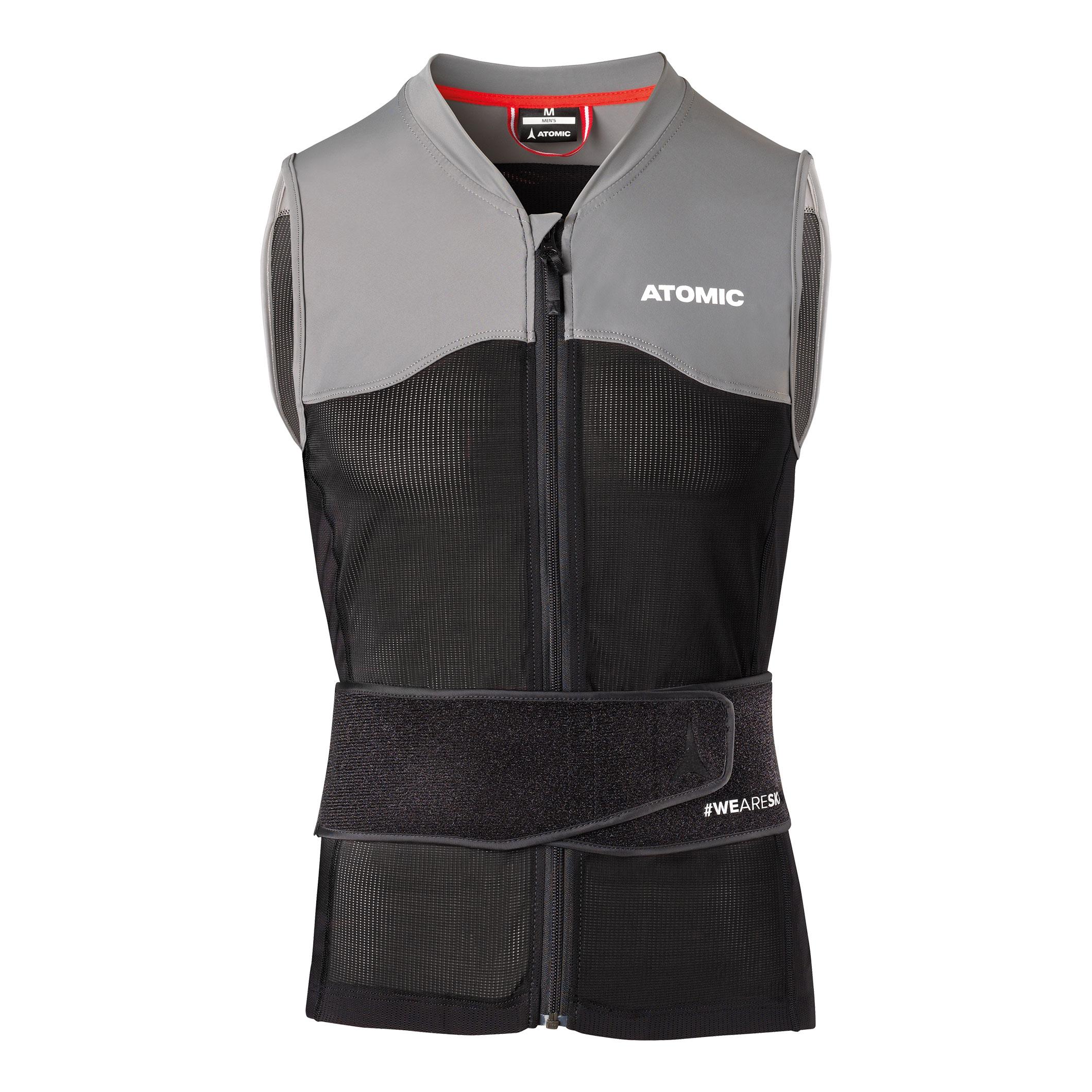 Chránič chrbta ATOMIC Live Shield M Black / Grey Čierno-sivá XL