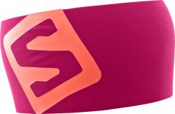 Čelenka SALOMON RS Pro Headband Cerise/Dubarry 18/19