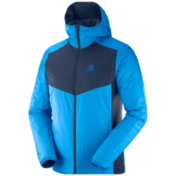 SALOMON Drifter Mid Hoodie M Hawaiian/Night Sky