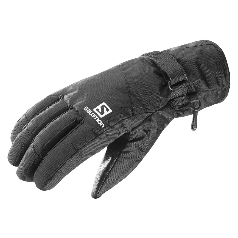 Rukavice SALOMON Force Dry M Black Čierna XL