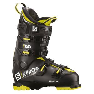 Lyžiarky SALOMON X Pro 110 Black/Yellow