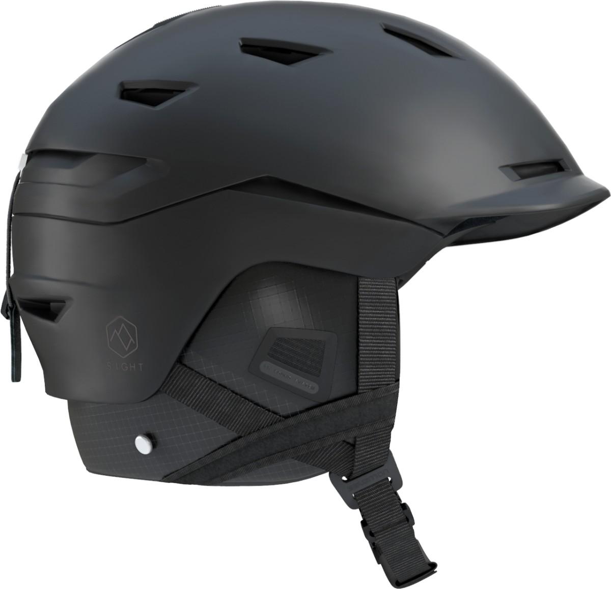 Lyžiarska prilba SALOMON Sight All Black Čierna 56-59 cm