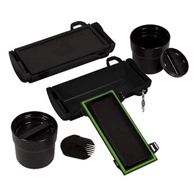 Ekologický obedár SCATO Traveler (Lunch Box) Black