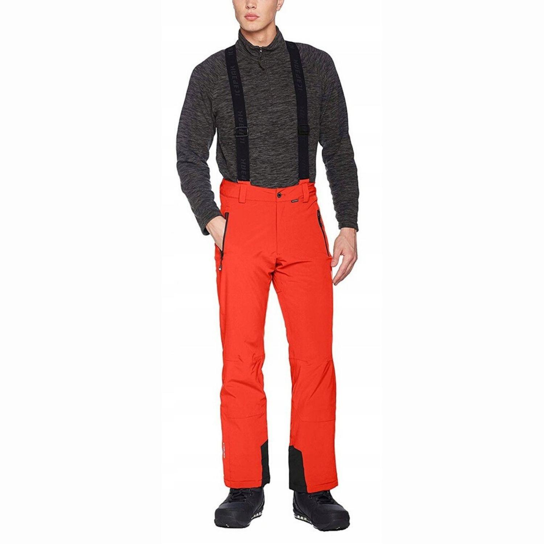 Lyžiarske nohavice ICEPEAK Noxos Red Červená XXL