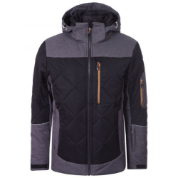 Bunda ICEPEAK Cal Black/Grey