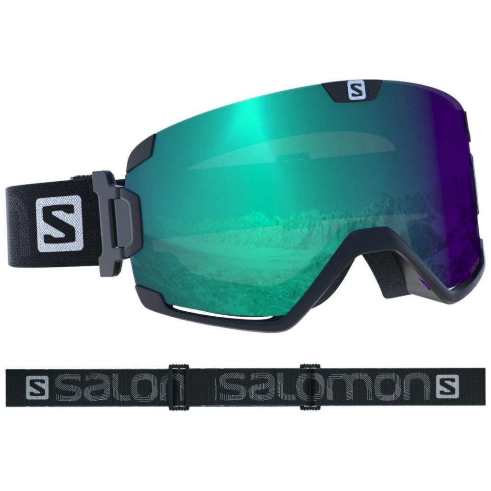 dc45feb48 Lyžiarske okuliare SALOMON Cosmic Photo Black/All Weather Blue 18/19