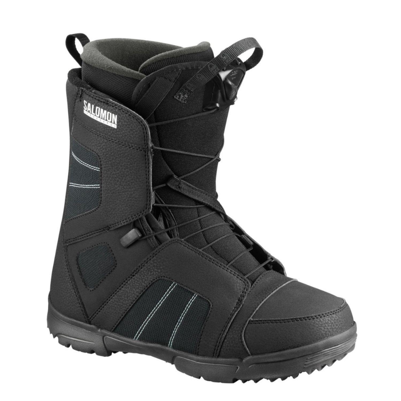 Snowboardová obuv SALOMON Titan Black Čierna 28.5