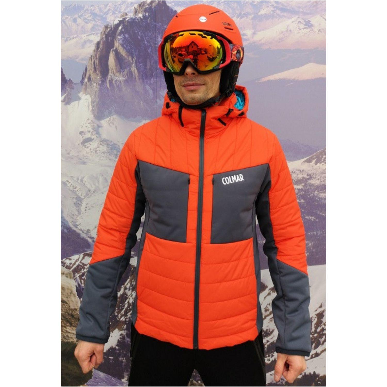Pánska lyžiarska bunda COLMAR Rocky Mountains Red / Black - 18/19 Červeno-čierna L