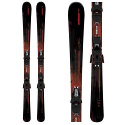 Zjazdové lyže ELAN Zest Black LS + ELW 9