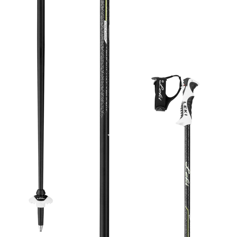 Lyžiarske palice LEKI Giulia S Black Čierna 115 cm
