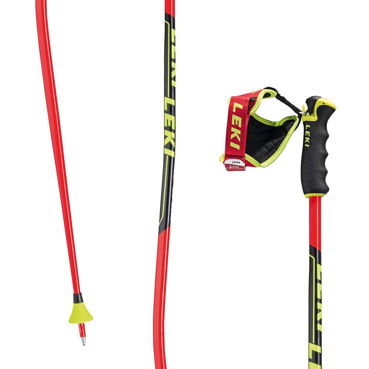 LEKI WC Racing GS Červeno-čierna 120 cm