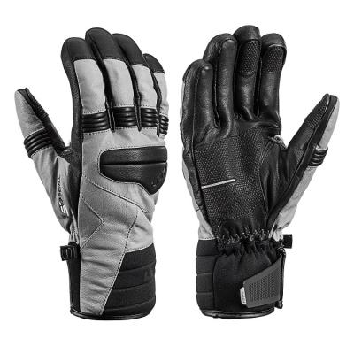Rukavice LEKI Progressive 9 S MF Touch Graphite/Black 18/19