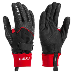 LEKI Nordic Circuit Shark Black/Red