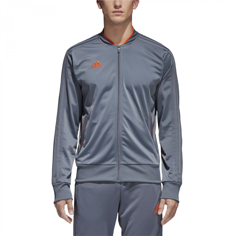 Mikina Adidas Con18 PES JKT Grey Sivá L