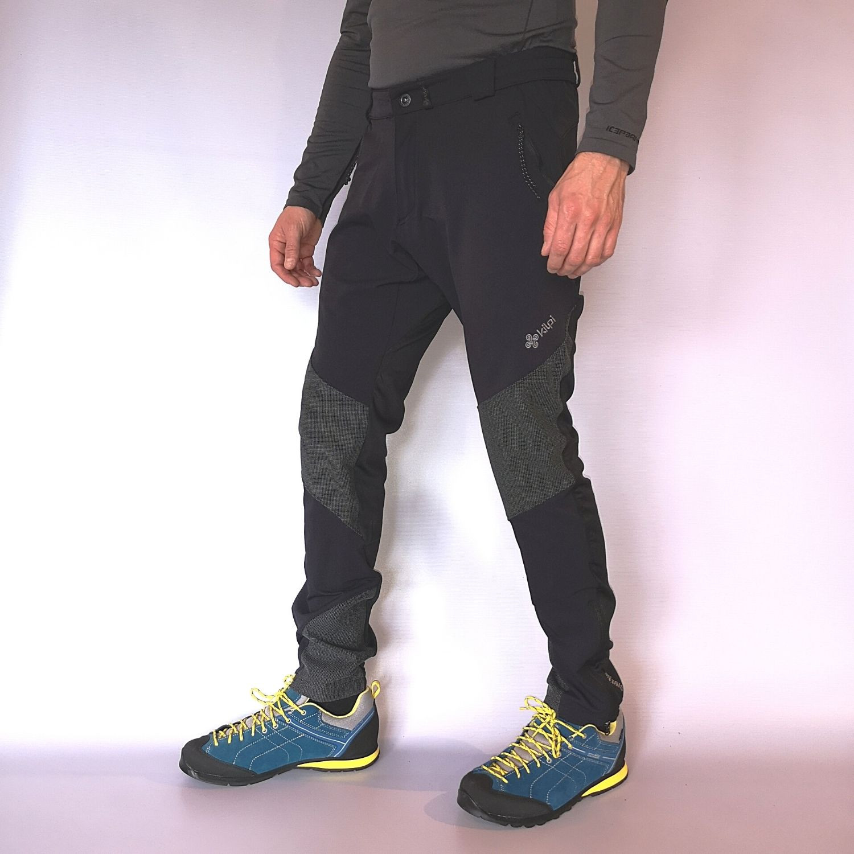 Pánske nohavice KILPI Nuuk-M Black Čierna XL