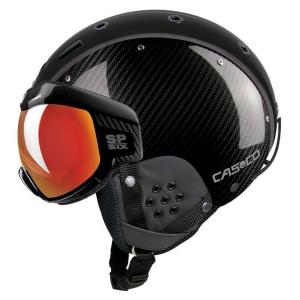 Lyžiarska prilba CASCO SP-6 Visier Limited Carbon Black Vautron Multilayer