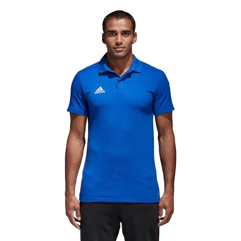 Tričko ADIDAS CON18 Co Polo Modrá M