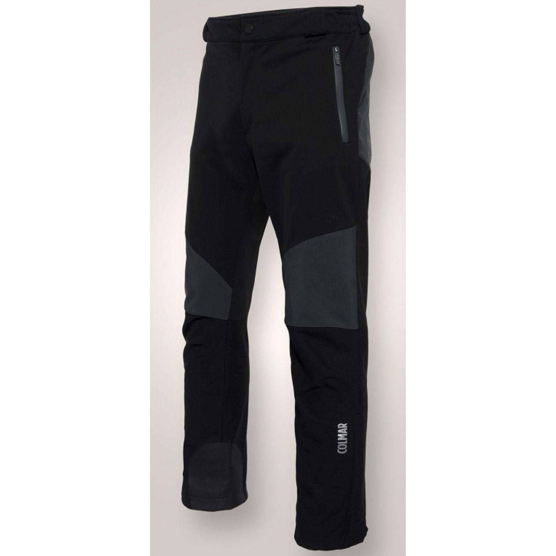 Lyžiarske softšelové nohavice COLMAR Soft Black Čierna 3XL