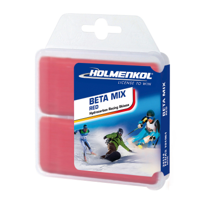 Vosk Holmenkol BETA MIX Red 2x 35g