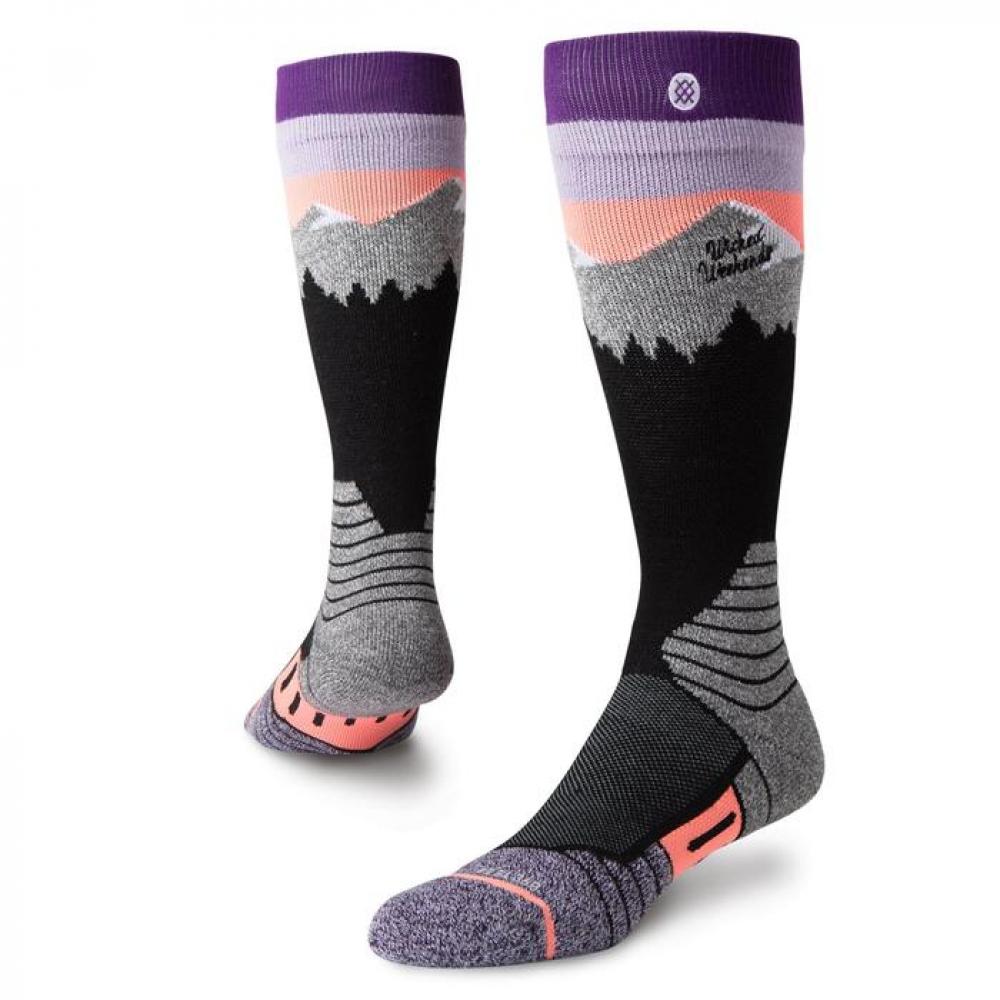 81dc60e968b Ponožky STANCE White Caps Purple - 18 19