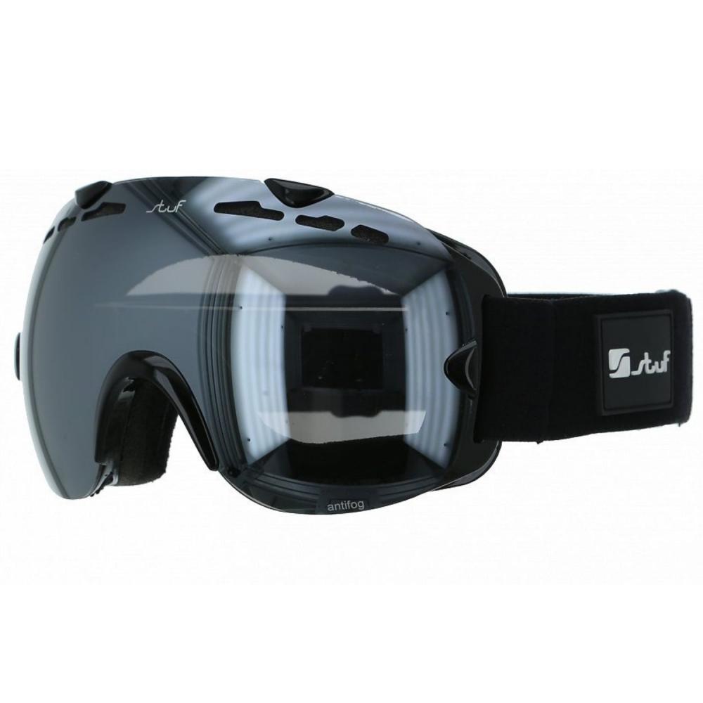 41668601e Lyžiarske okuliare STUF Ryder Uni Black - 18/19