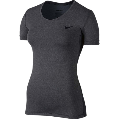 Dámske fitness tričko NIKE Pro Cool Grey - 18/19