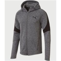 Pánska mikina PUMA Evostripe FZ Hoody Grey - 18/19