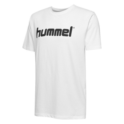 HUMMEL GO Cotton LOGO White