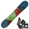 Snowboard HEAD Rowdy Jr. s viazaním Stuf Air
