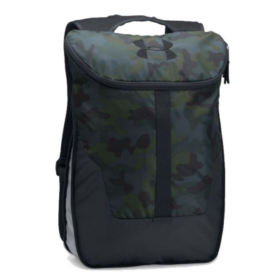 UNDER ARMOUR Expandable Sackpack Green