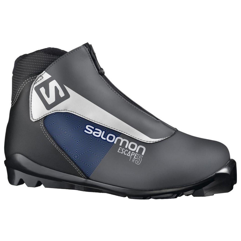 Topánky na bežky SALOMON Escape 5 SNS Tmavo sivá 42