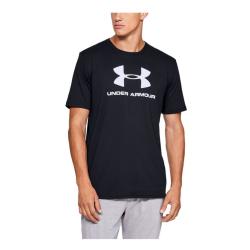 Pánske tričkoUNDER ARMOUR Sportstyle Logo SS Black