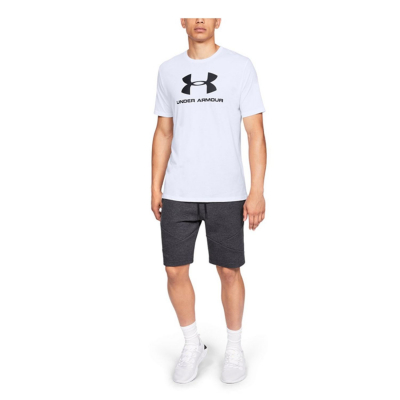 UNDER ARMOUR Sportstyle Logo SS White