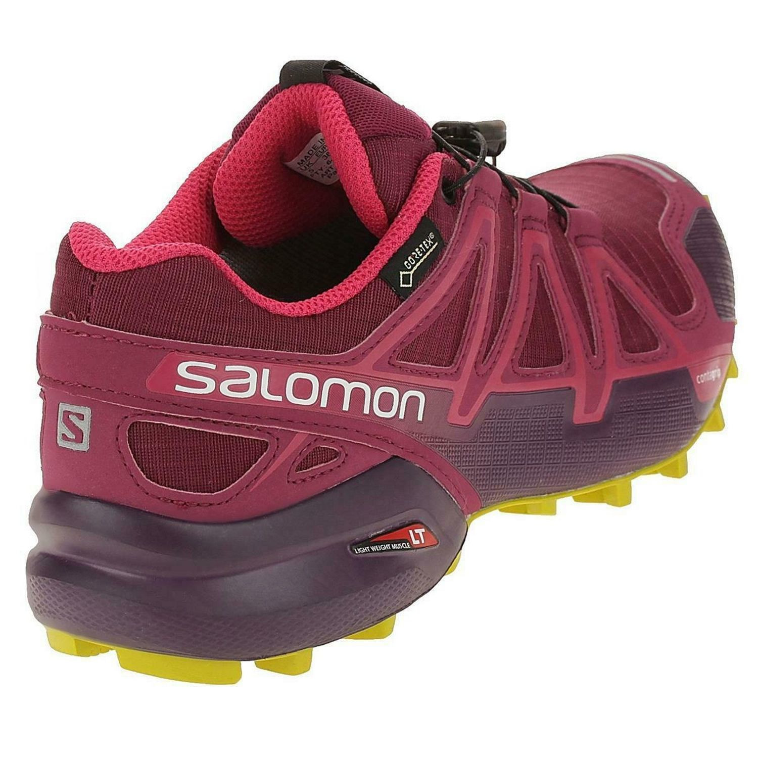 SALOMON Speedcross 4 GTX W Red Červená uk 4