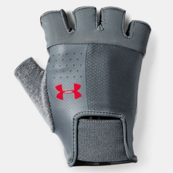 UNDER ARMOUR Men's Training Glove Gray