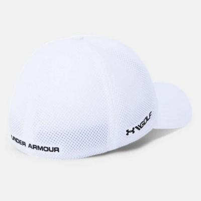 UNDER ARMOUR Men's TB Classic Mesh Cap White